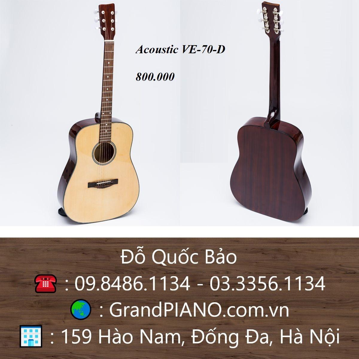 Đàn Guitar Acoustic VE-70-D