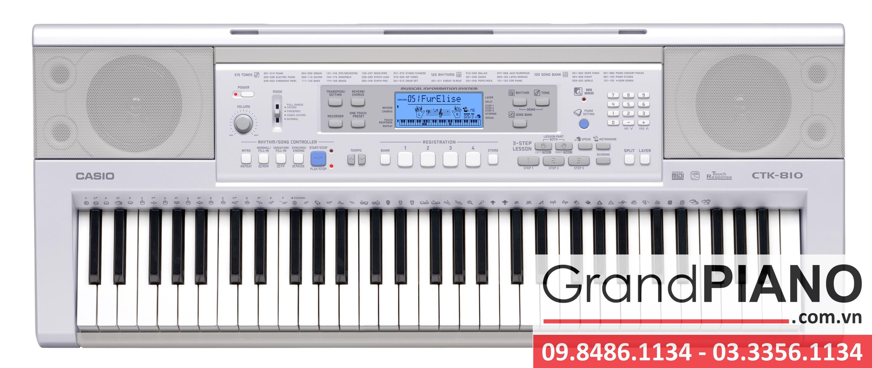Đàn Organ Casio CTK-810IN